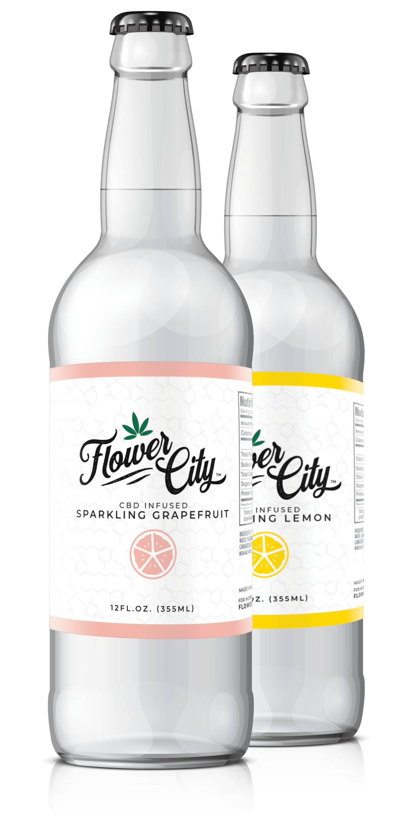 Flower City CBD bottles